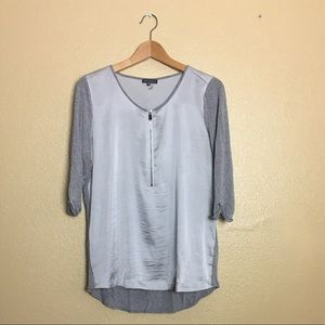 Vince Camuto Gray Top Size MP